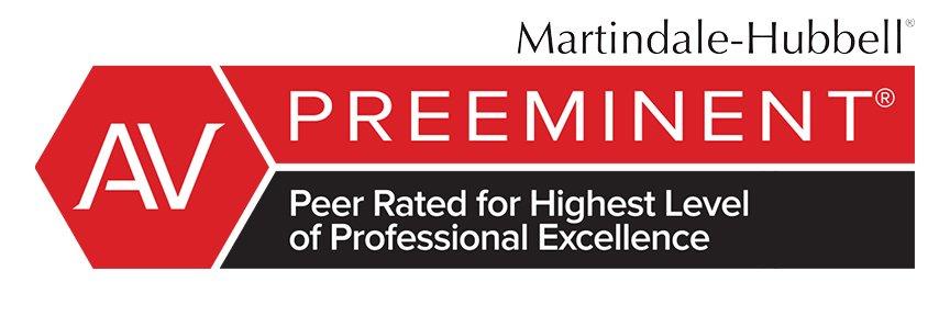 AV Preeminent Rating by Martindale Hubble Logo